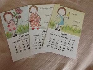 2015 calendar pages