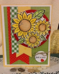 Coordinating colors and patterned paper