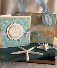 Easy to make gift bag and  note card.
