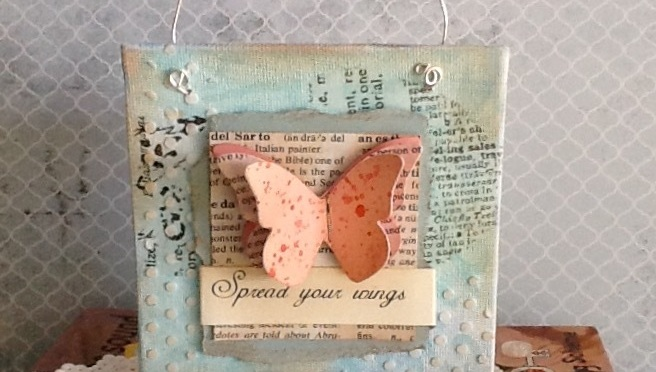 Spread Your Wings Butterfly!