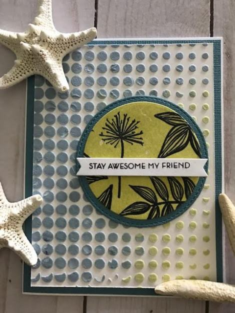Nancy Souza Embossing Paste