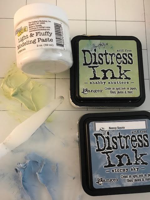 tinted paste